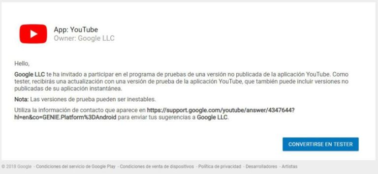 YouTube-Beta