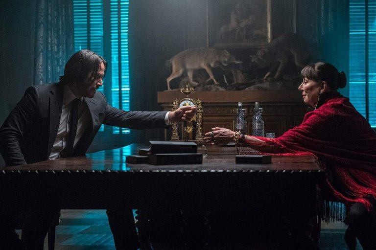 Keanu-Reeves-and-Anjelica-Huston-in-John-Wick-Chapter-3-Parabellum-2019-1200x799
