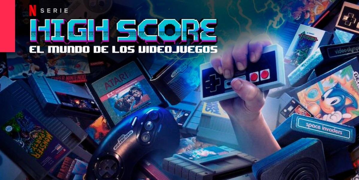 Resultado de imagen para High Score: El mundo de los videojuegos